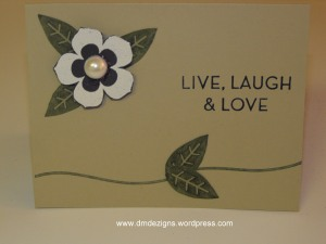 Live, Laugh & Love Card